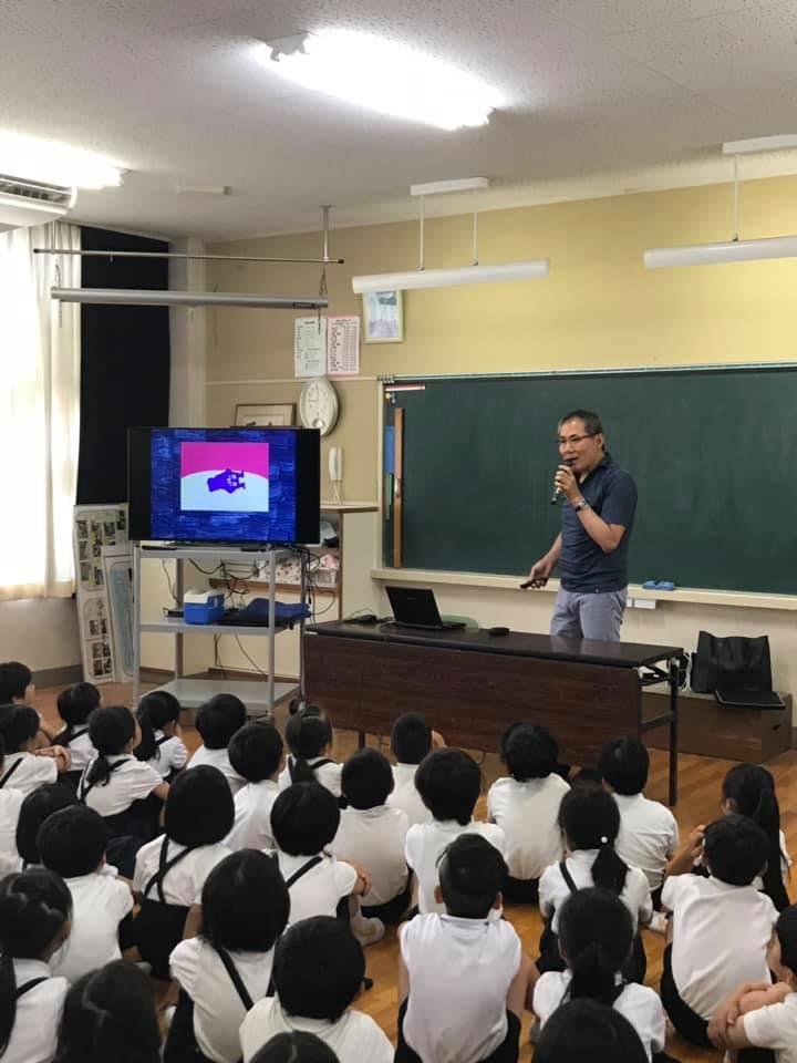 小学校の保健の授業